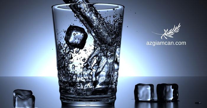 nước và vai trò của nước đối với giảm cân