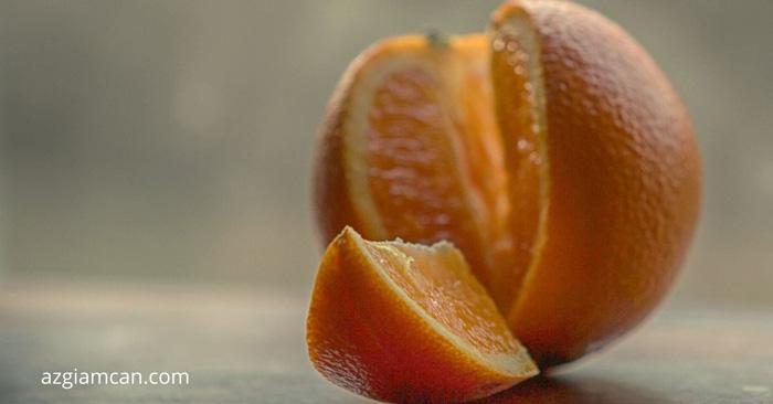 1 quả cam bao nhiêu calo và bao nhiêu gam chất xơ