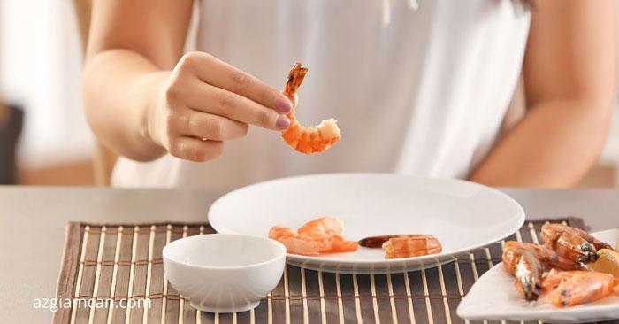 cách ăn tôm giảm cân khoa học