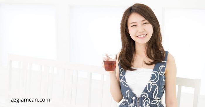 cách uống trà lipton giảm béo