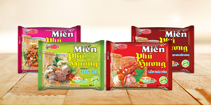 miến Phú Hương ăn liền