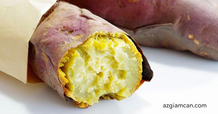 100g khoai lang vàng chứa bao nhiêu calo? ăn khoai lang vàng có giảm cân không