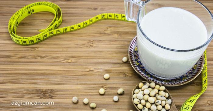 cách uống sữa đậu nành để giảm cân