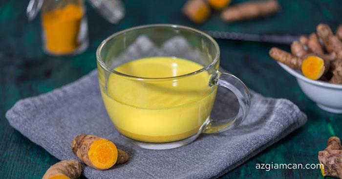 cách uống tinh bột nghệ để giảm cân