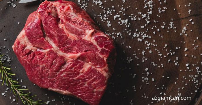 100 thịt cổ bò có bao nhiêu calo
