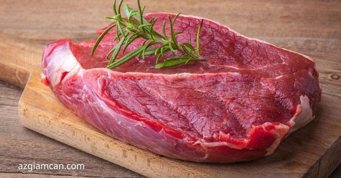 100g thịt đùi gọ bò có bao nhiêu calo