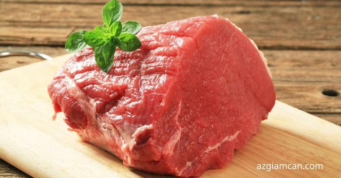 100g thịt mông dưới/đùi bít tết bò có bao nhiêu calo