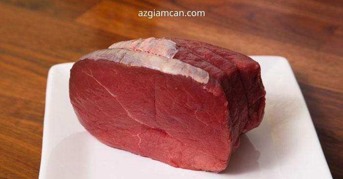 100g thịt mông trên bò có bao nhiêu calo