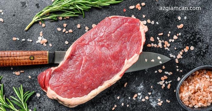 100g thịt thăn lưng bò có bao nhiêu calo