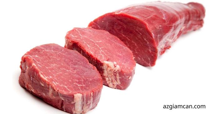 100g thịt thăn nội bò có bao nhiêu calo